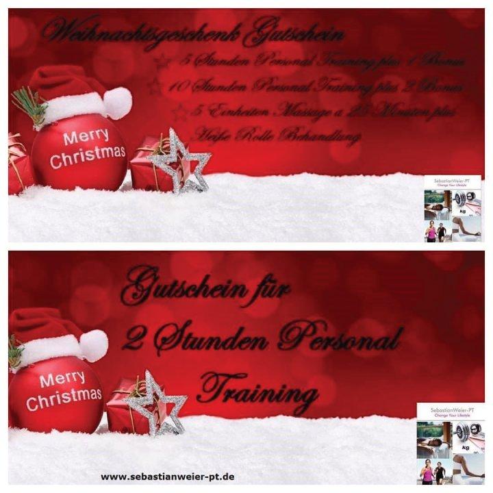 Eure Personal Trainer für Bochum und Ruhrgebiet zu Weihnachten