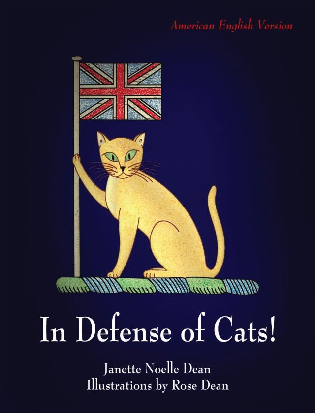 Cat book cover for In Defense of Cats!