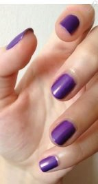 ongle violet