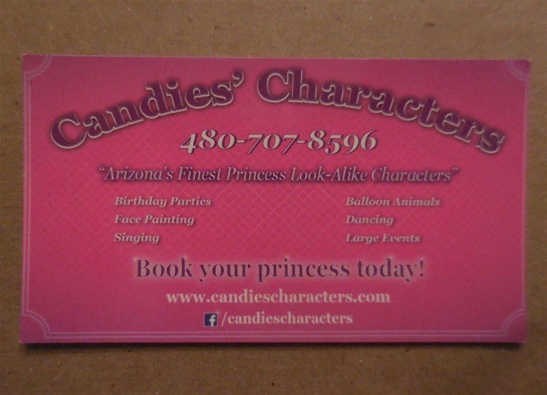 Candies' Characters