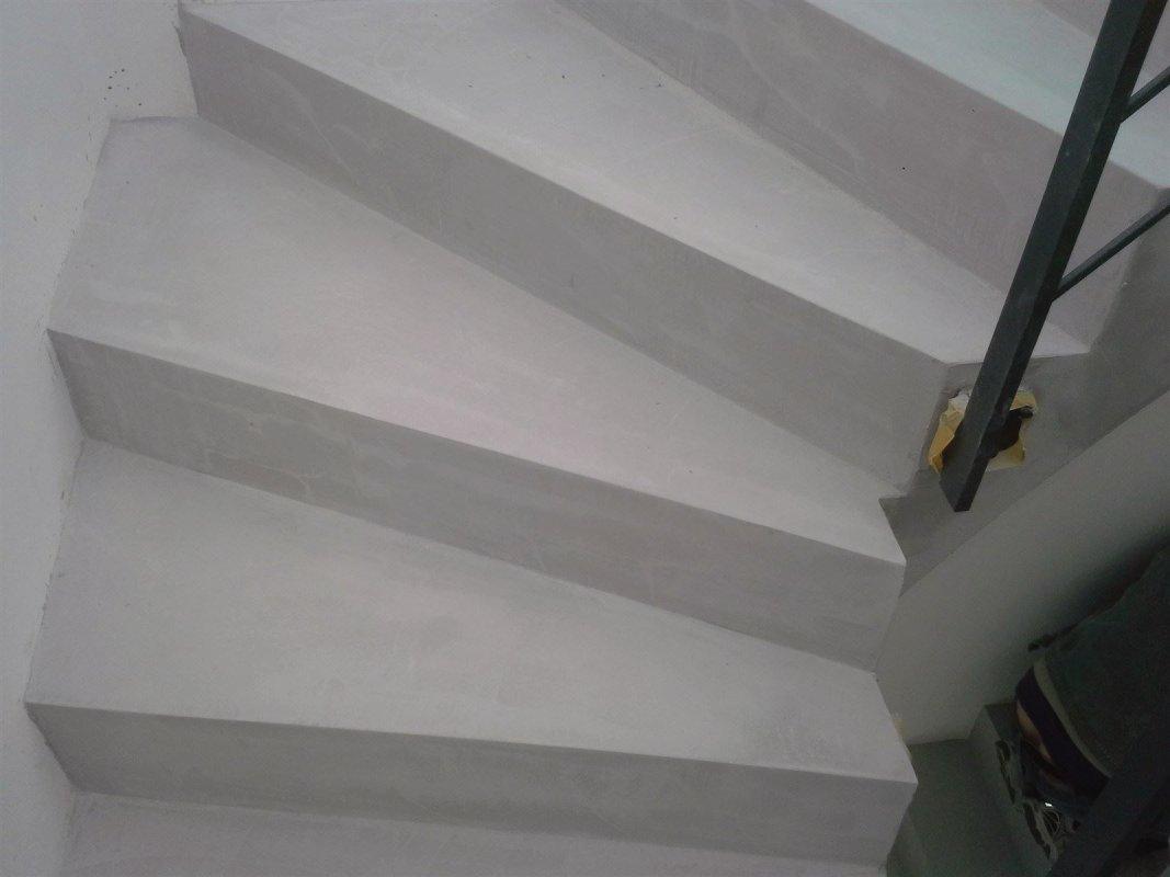 Fugenlose Treppenbeschichtung Betondesign Loftdesign