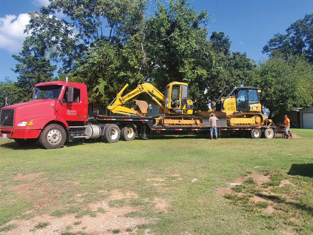 We have all the equipment and labor necessary to complete any job!