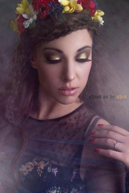 Image: Danica Stonehouse, MUA: Olivia Morley, Model: Katelyn Malayko