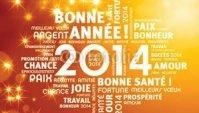 Bonne Année 2014 #Clin D'oeil #Décoration Florale
