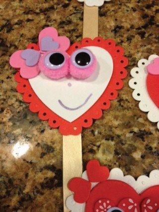 Valentine Girl puppet
