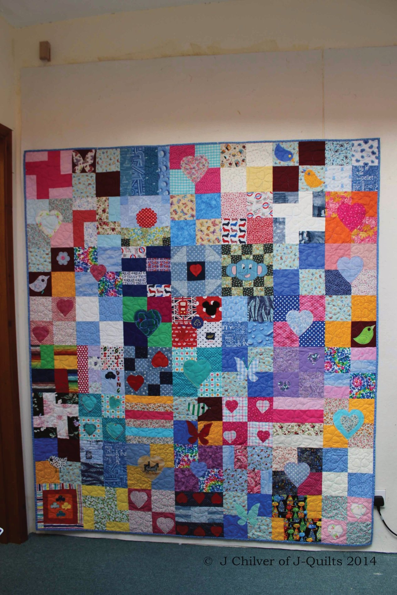 Girl Guide quilt for SEW1 project