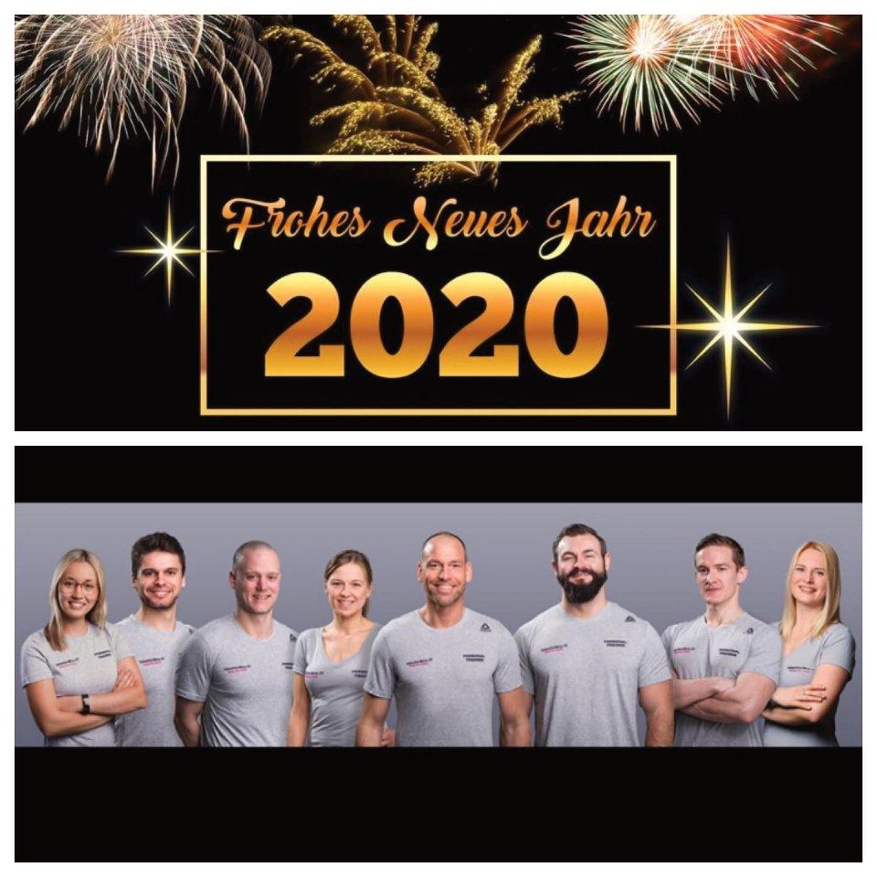 Eure Personal Trainer in Bochum wünschen ein frohes neues Jahr.