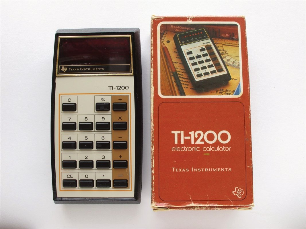 Texas Instruments Pocket LED calculator