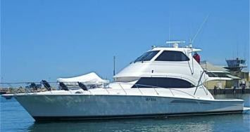 m.v. riviera 58 sports fisher, fremantle-gold coast