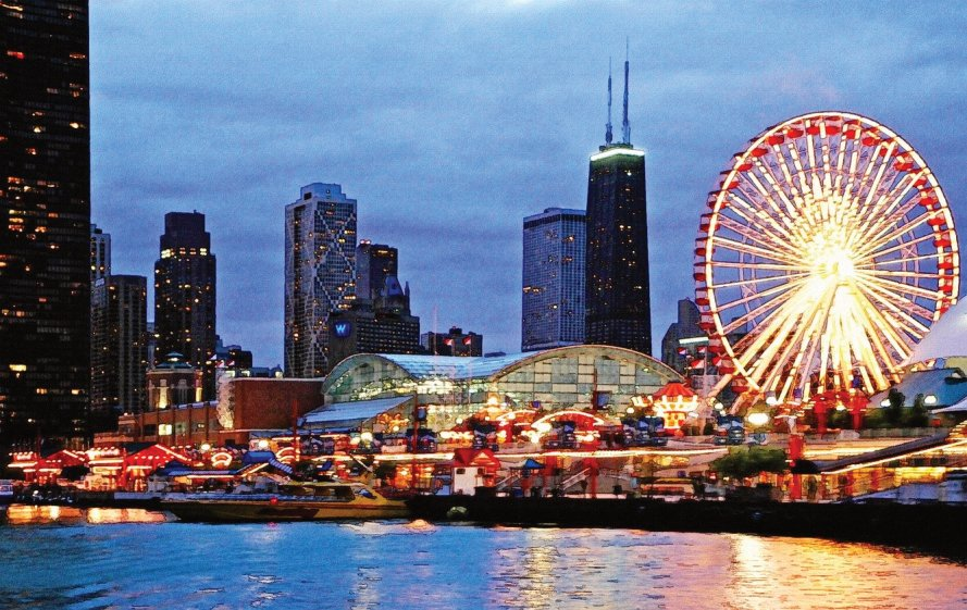 Chicago Events schedule from Southtown Limousine website