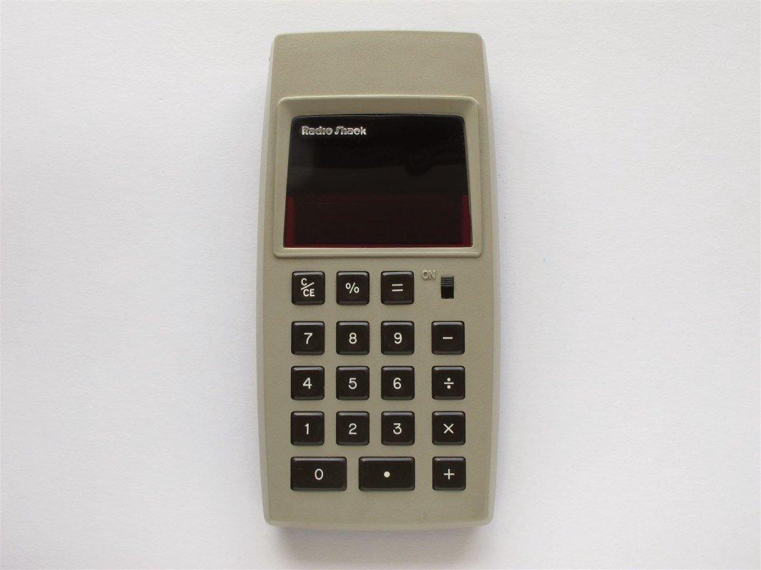 Radio Shack Pocket LED calculator