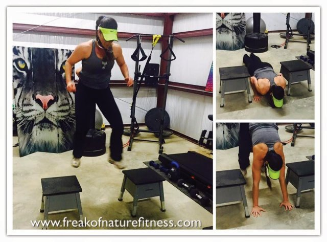 Tosha Firestone, Freak of Nature Fitness, Workout Motivation, Your best exercise, box jump, health