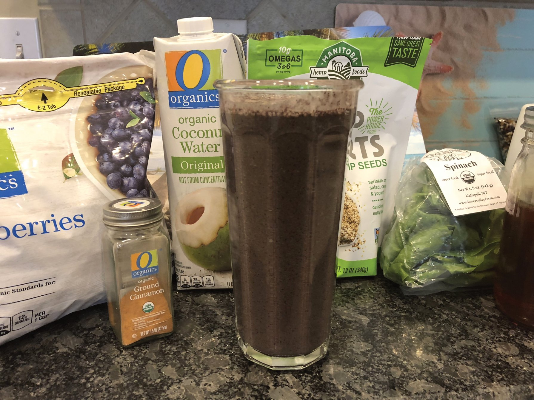 Freak of Nature Fitness, Nutrition, Post Workout Smoothie, Eat Clean, Tosha Firestone
