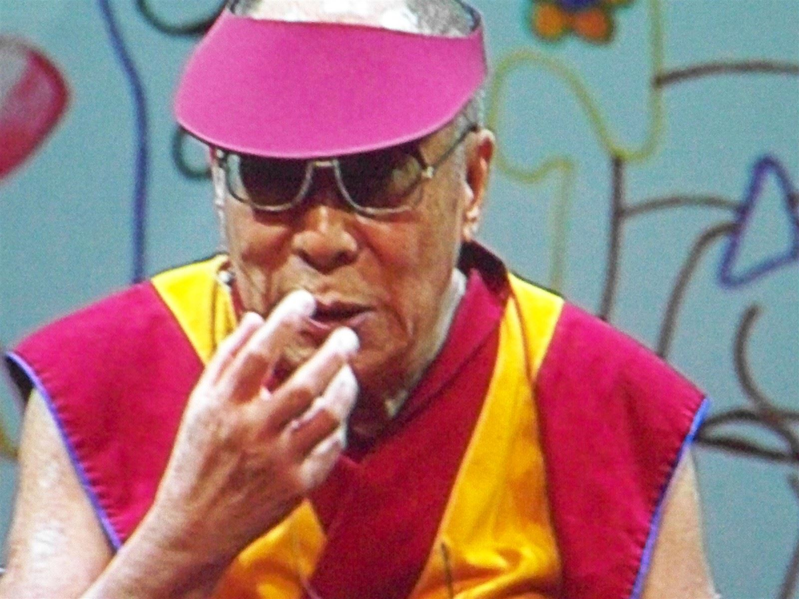 His Holiness the Dalai Lama : His Holiness the Dalai Lama @Newark Peace, May 2011