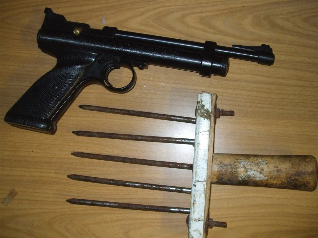 Crosman Air Pistol &