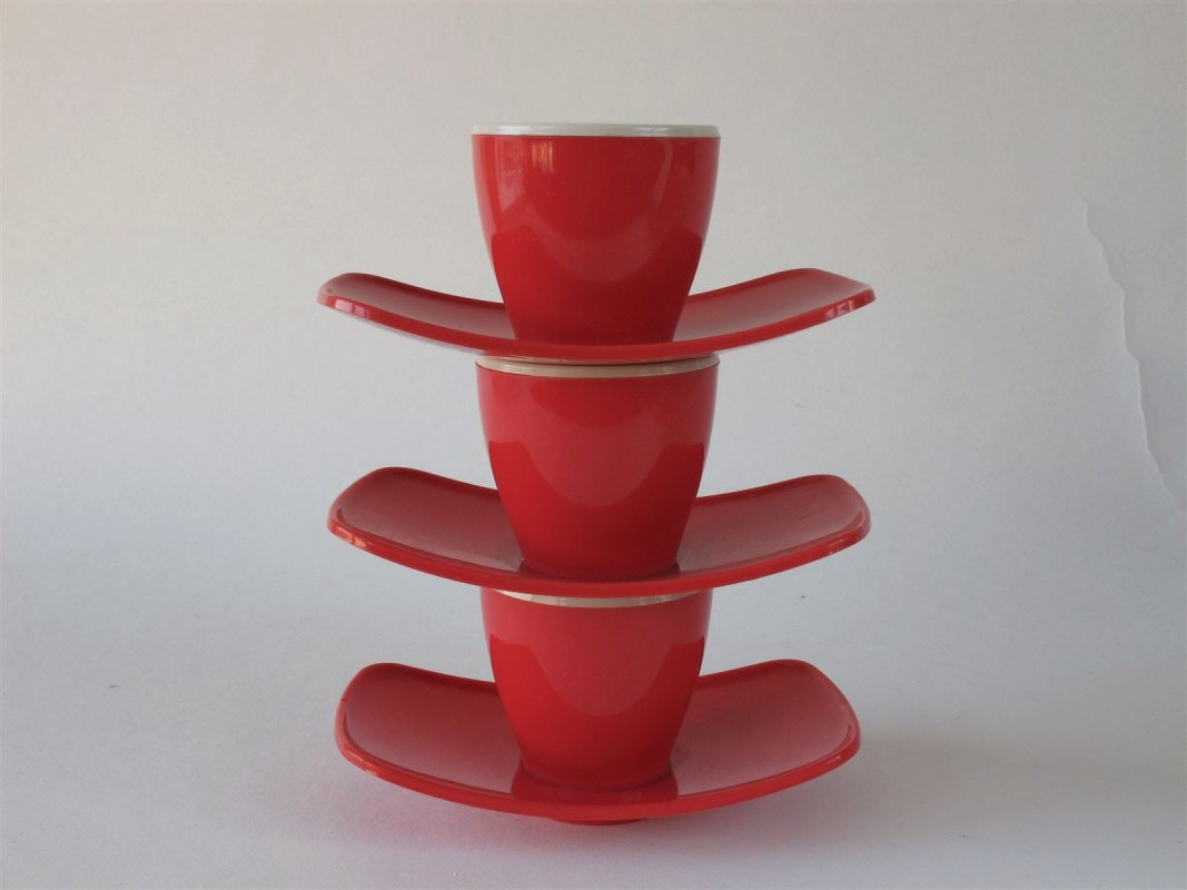 vintage plastic egg holders