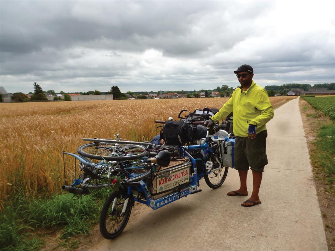 : Intervention sur les bici des copines