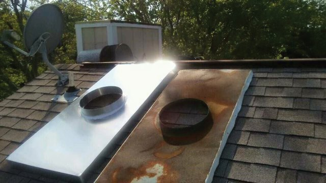 aluminum chase covers fix chimney leaks in Jacksonville Florida