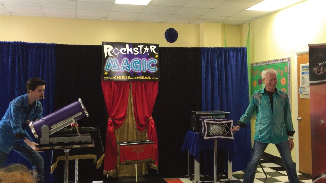 Chris and Neal Perform Dazzling Magic at Kids Birthday Parties in New Bern and Swansboro NC