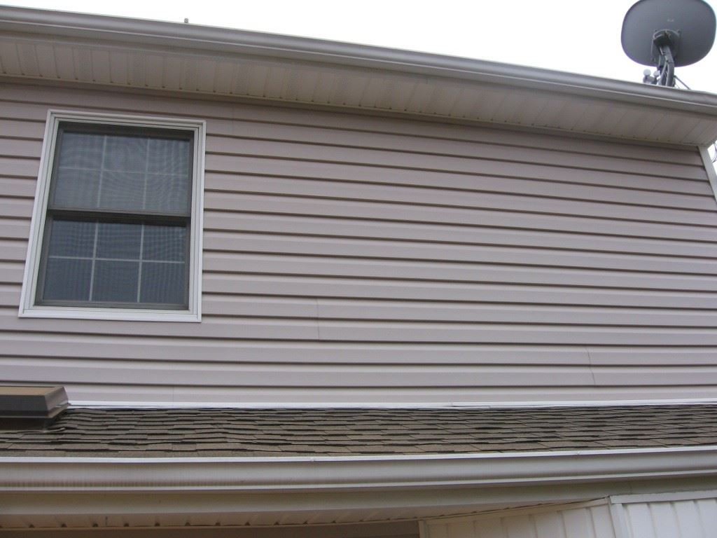 After a powerwash by All Good Painting Nice looking, clean siding