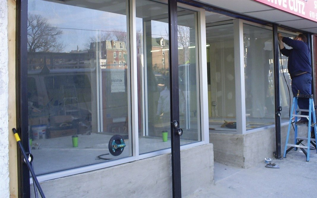 : New Commercial Storefronts & Doors