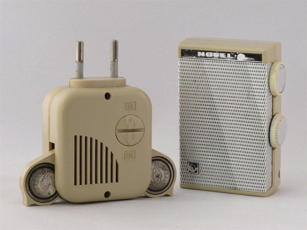 Russian Pocket transistor radio, rechargable cells !!