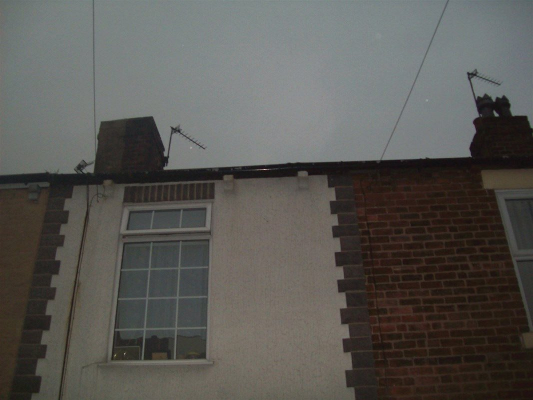 the replacement of guttering in garforth  all work carried out by leeds pointing