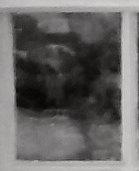 Enlargement: Left Window, Lower Half, Upper Left Pane (Deep Infrared)