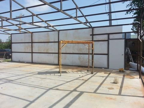 Sheeting and insulating