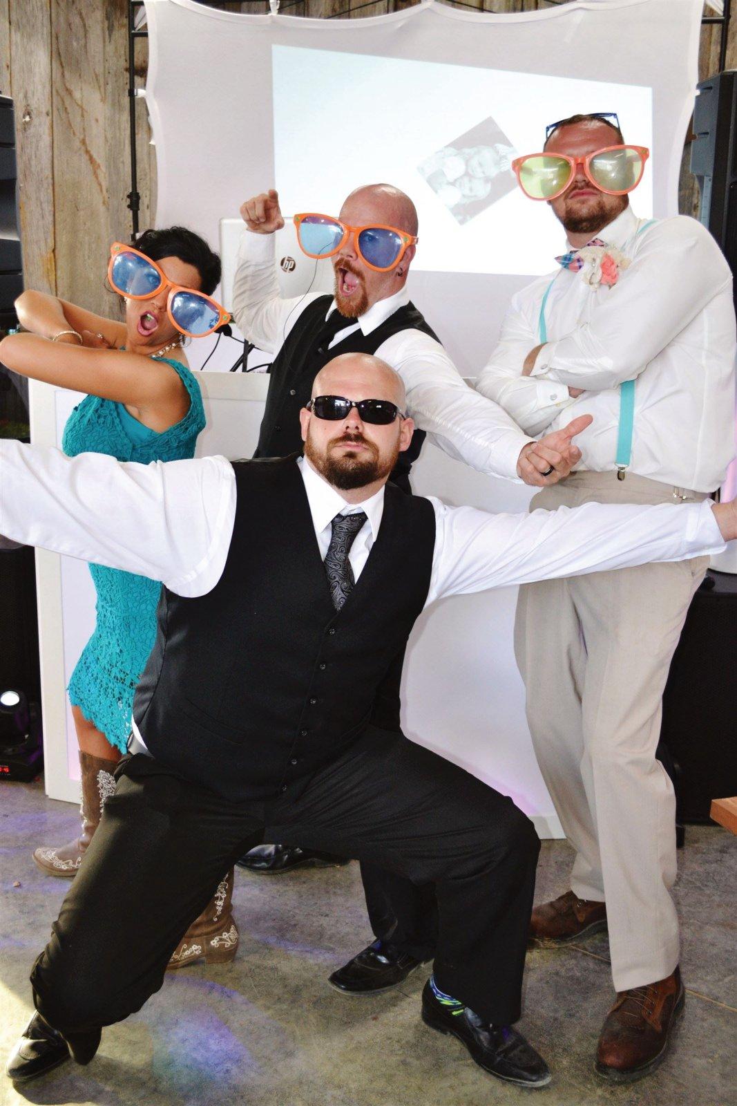 This was a fun wedding