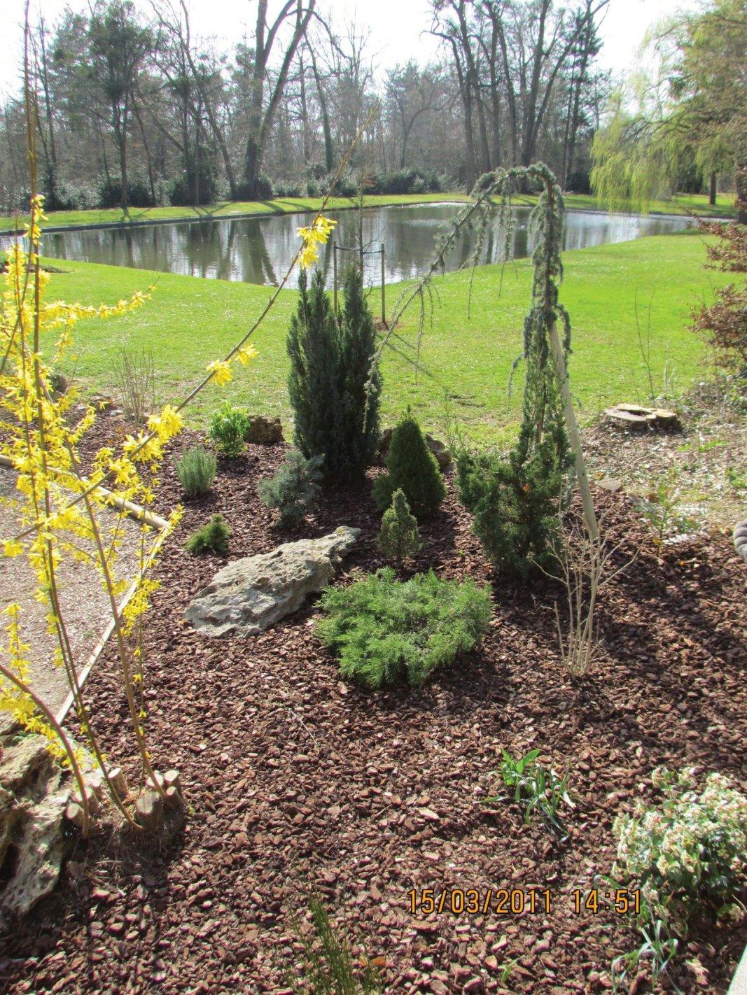 Immovert - réaménagement d'un jardin