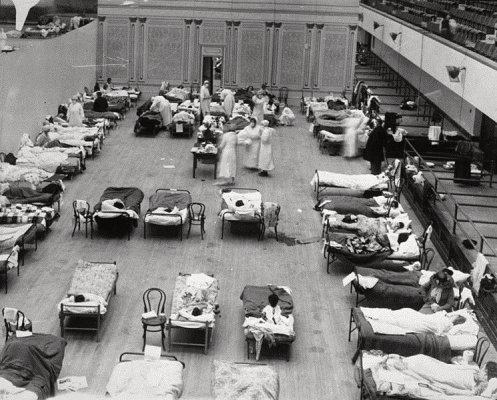 Walter Reed Hospital, 1918
