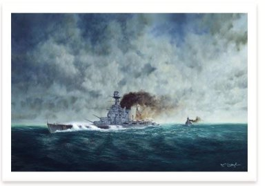 Prelude to Disaster - HMS Hood