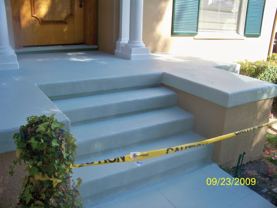 Handyman services, Porch repair finish