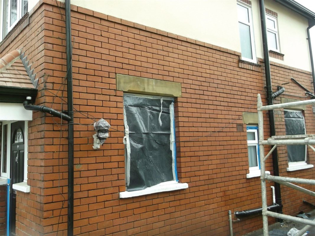 chemical cleaned brickwork by leeds pointing
