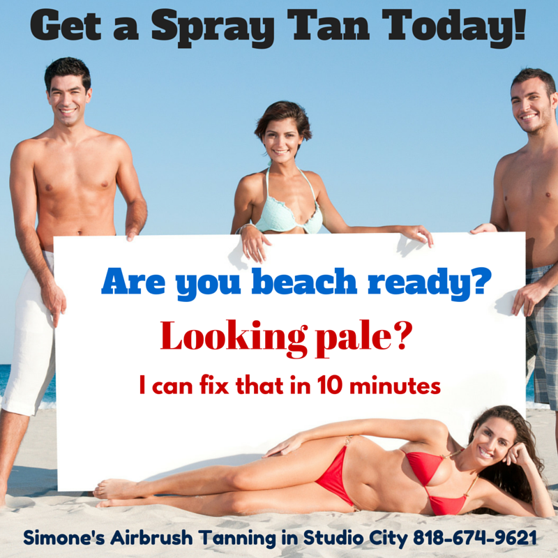 spray tanning in studio city and north hollywood