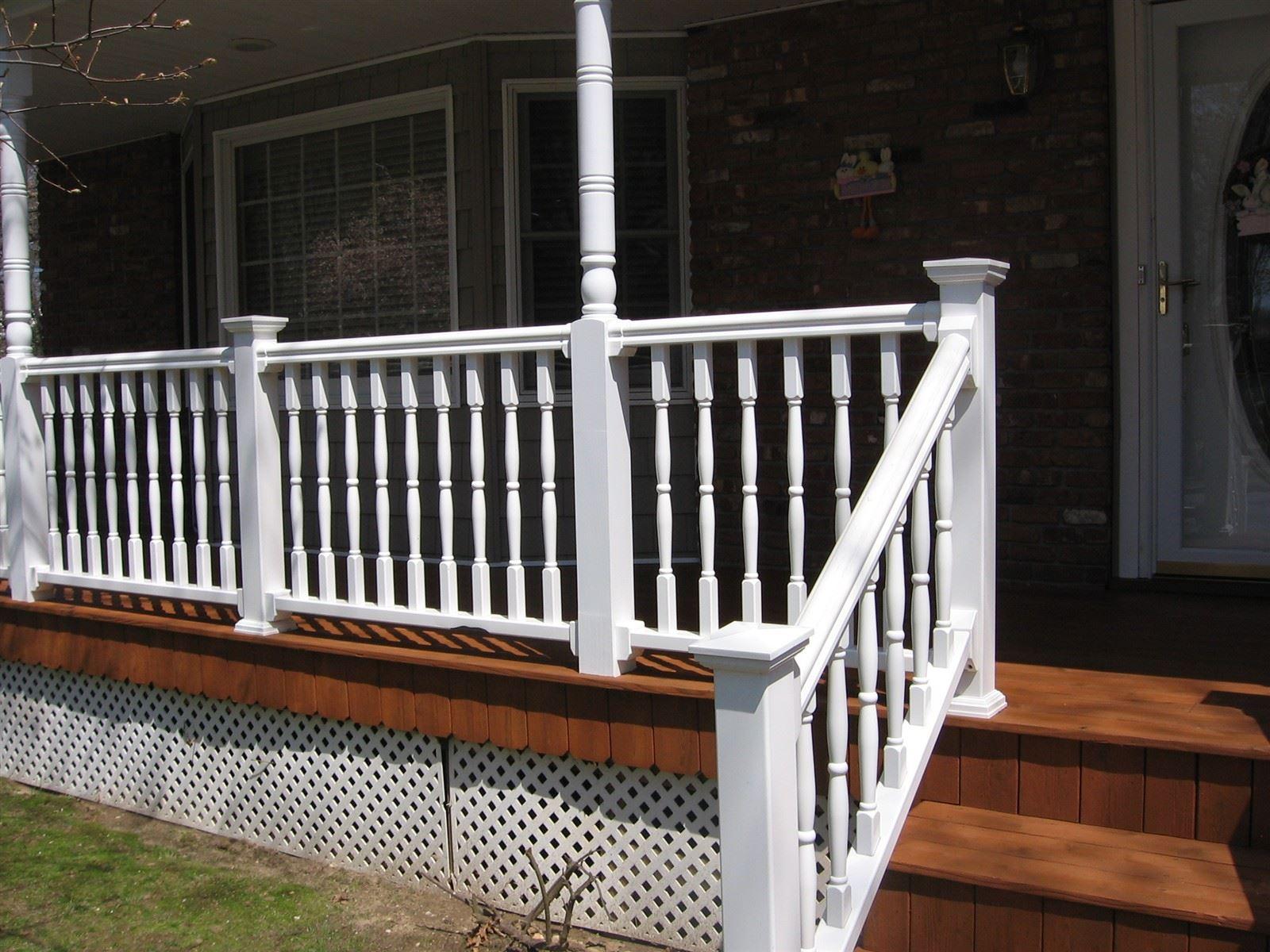 Deck in Setauket : Stained with Sherwin-Williams Cedar Bark