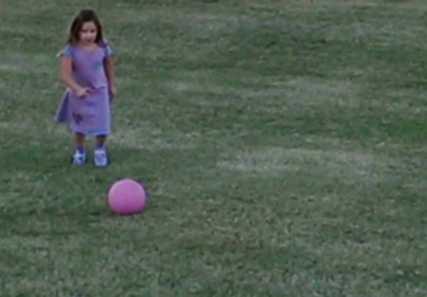 make the time for your kids play kickball
