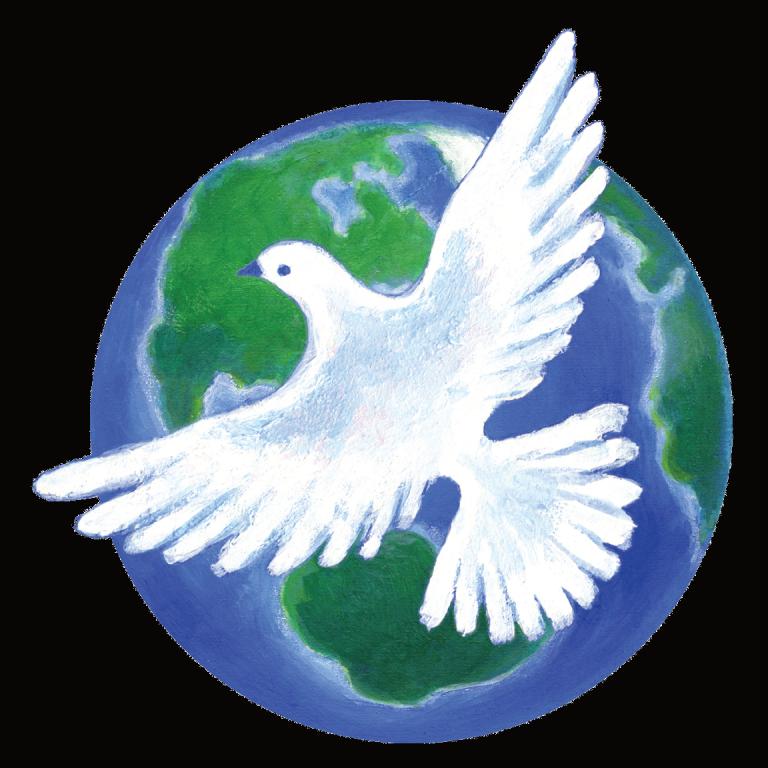 Den Frieden in dir finden, damit die Welt friedlich wird.