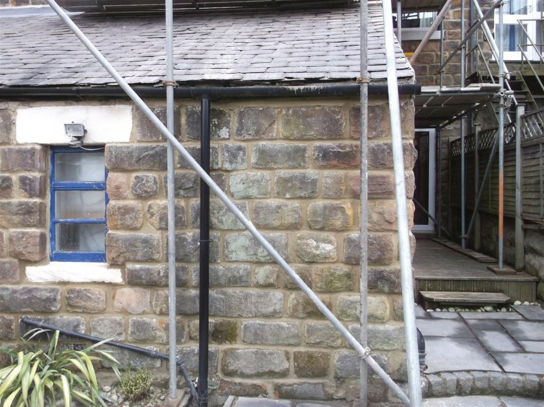 repointed stone work in harrogate all work carried out by leeds pointing