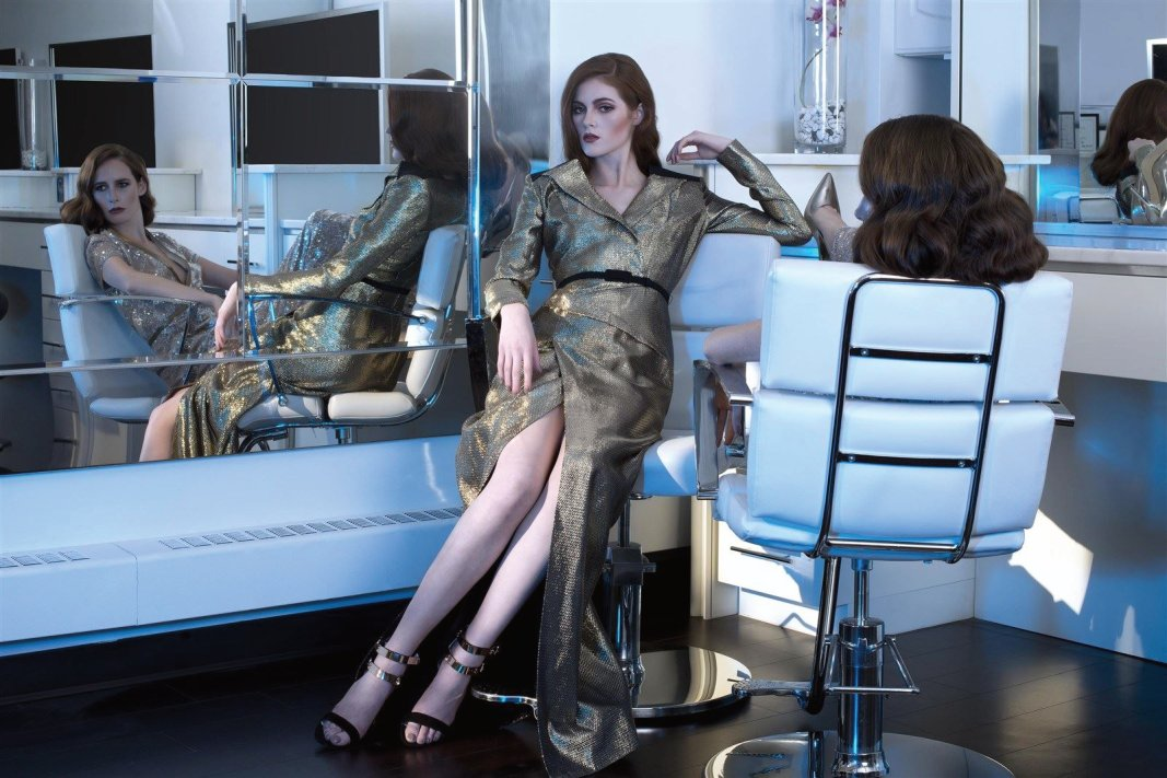 Models: Kendal Shae and Genevieve Ellen Reibmayr-Little; MUA: Debra Kelly; Hair: Jason Mellor; Photographer: Vanessa DeZutter