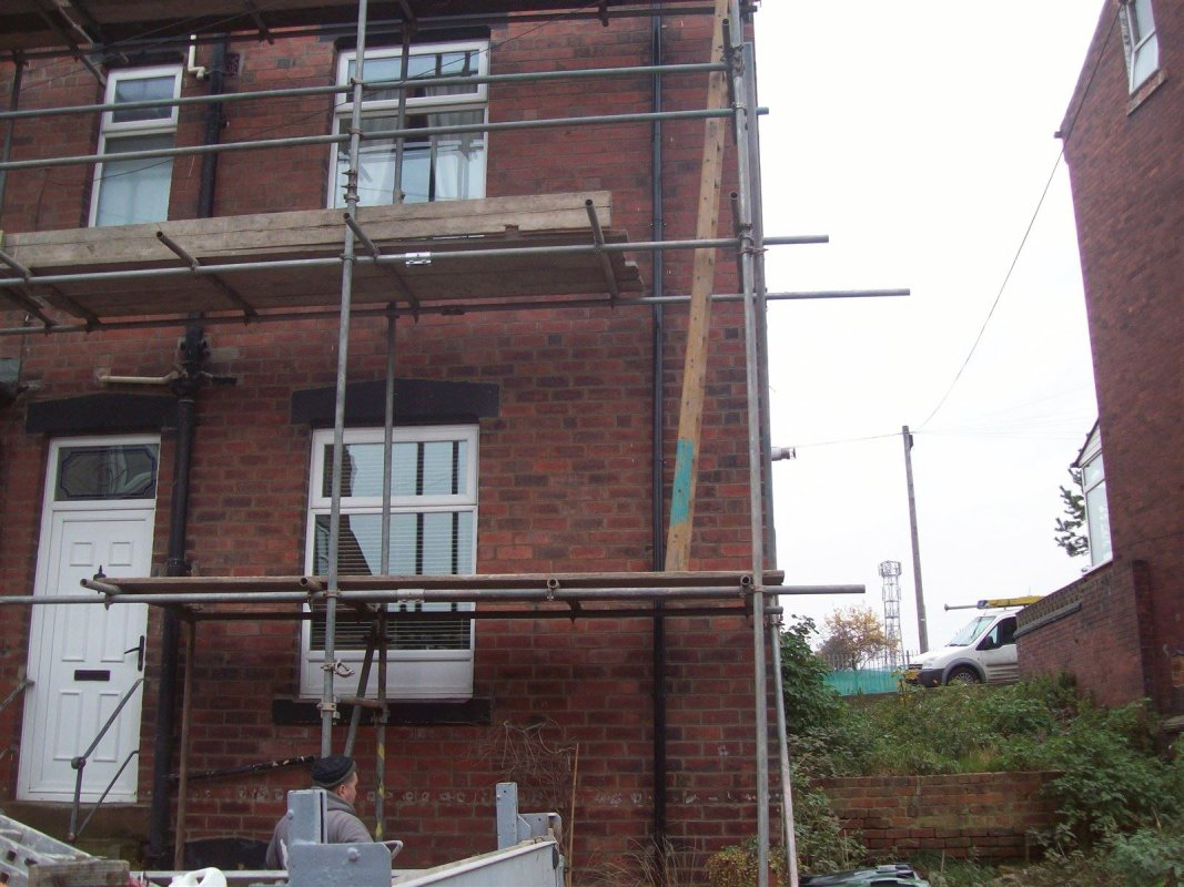 house repointing specialist carrying out repointing works in wortley leeds