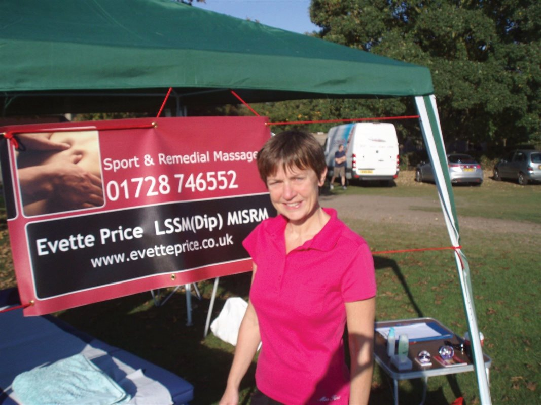 Sports massage in Suffolk