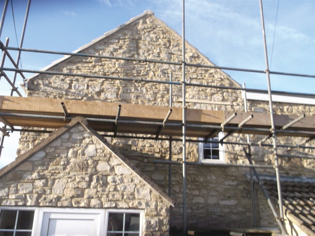 repointed stone cottage all work carried out by leeds pointing 01138080784