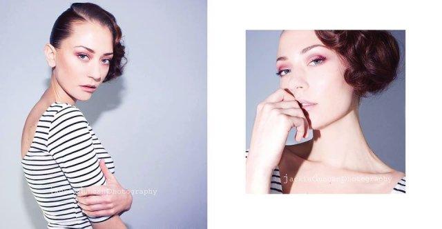 Photographer: Jackie Duncan; Model: Valda Sedova; HMUA: Bumble and Bumble