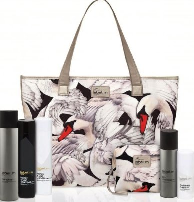 Giles Deacon Label.m swan bags are inspired by his new catwalk collection