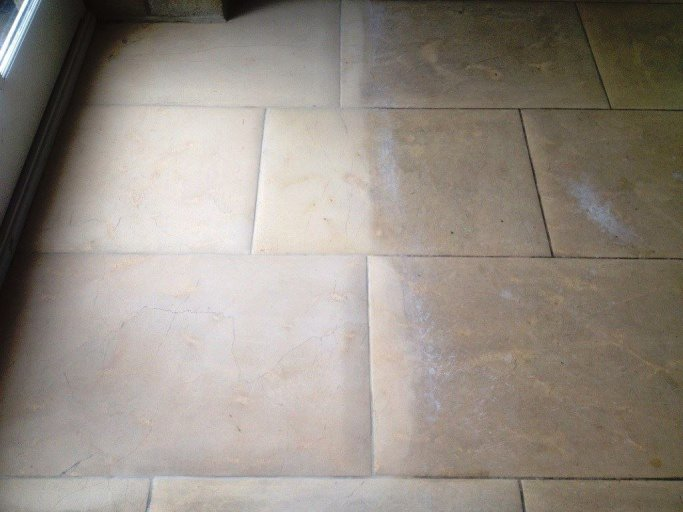 Legacy Stone Floor Deep Cleaning