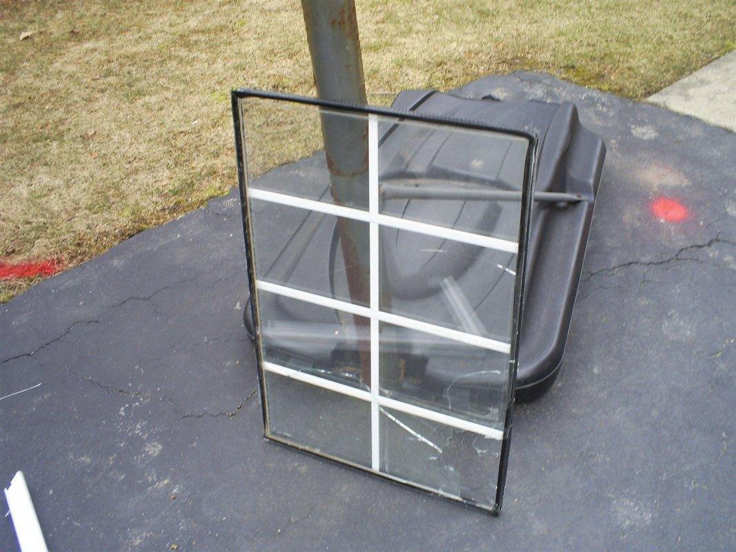 broken window glass repair