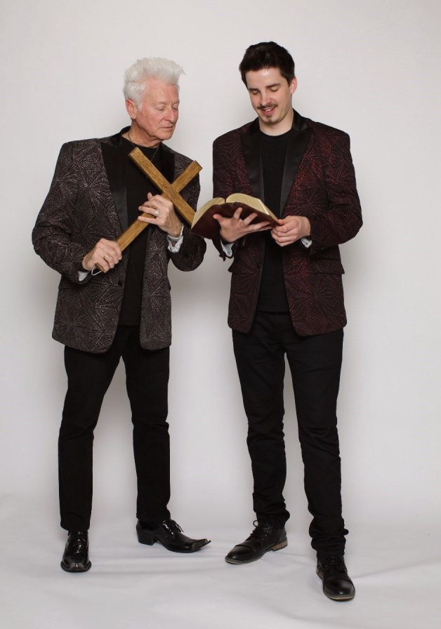 Magicians Chris and Neal bring a unique approach to magic with their gospel illusion show