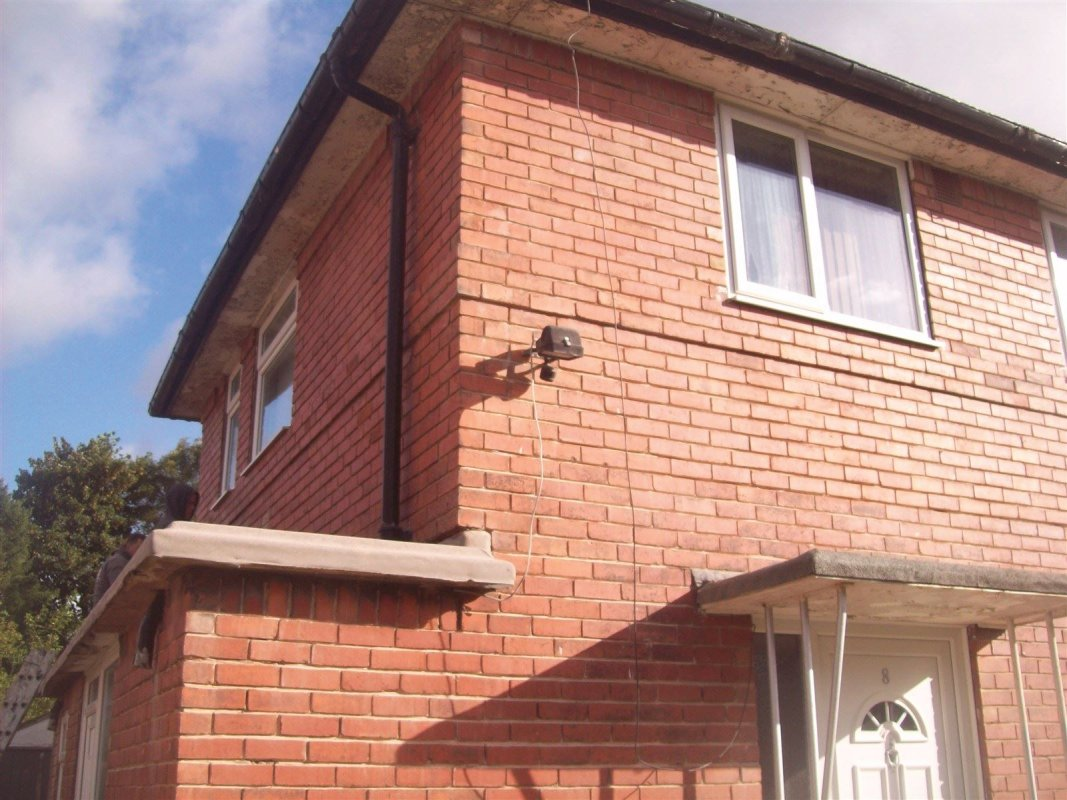 raked cut pointing in seacroft leeds